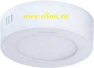 Đèn LED ốp nổi Duhal 24W SDGC524